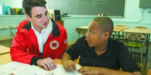 Learning To Learn: City Year members help students make the grade.