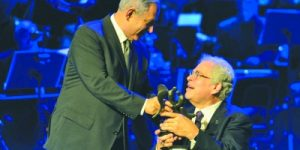 Maestro And Humanitarian: Violinist Itzhak Perlman wins the Genesis Prize.
