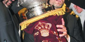 Rabbi Eliezer Cohen's Family Commissions Or Chadash's First New Torah
