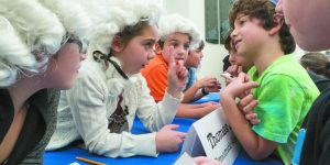 Ann Arbor Hebrew Day School Students Act Out The Election Of 1800