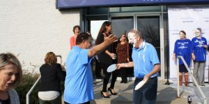 Jerry Acker Takes A Pie To The Face For A Good Cause