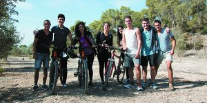 Bicycle trail promoted by Michigan Jewry links Jews and Arabs in  Central Galilee
