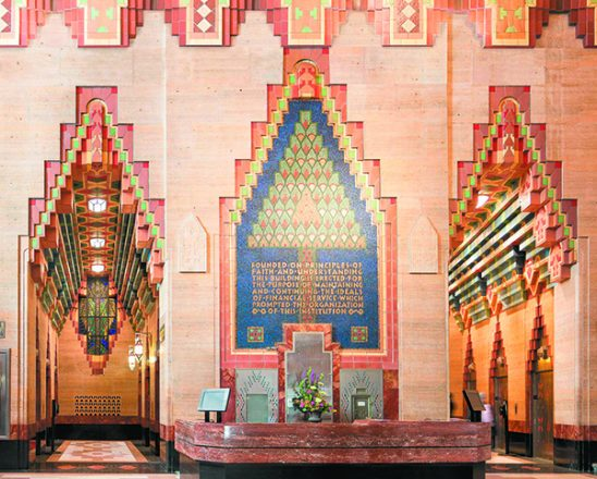 Guardian Building main lobby interior
