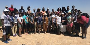 African American Students Take In All Sides  of Israel