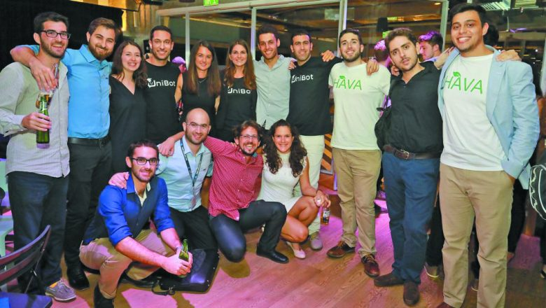 This year's cohort of Birthright Israel Excel Ventures entrepreneurs.