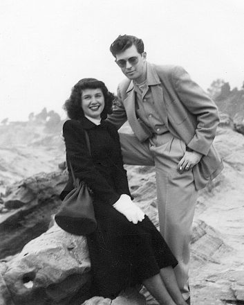 Lillian and Harold Michelson in L.A. in 1947