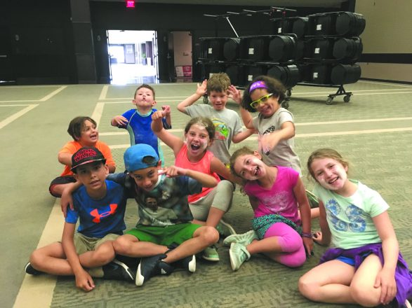 Campers in the local JCC's Hebrew immersion program
