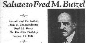 """From the DJN Davidson Digital Archive – """"Salute to Fred Butzel"""""""