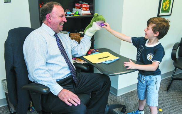 """""""The fun doctor"""" helps unlock the potential of young children with autism."""