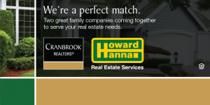 Cranbrook and Howard Hanna Join Forces