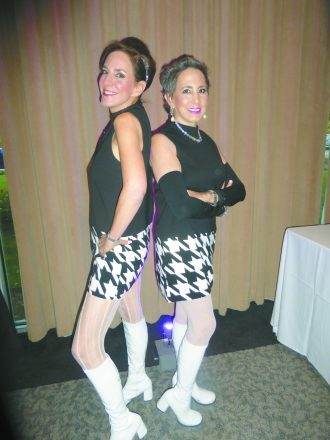 In 2015, sisters and breast cancer survivors Laura Segal of Franklin and Carol Ziecik of Bloomfield Hills were a Hippie Modern duo at the Pink Fund's Dancing with the Survivors event. The two, along with Michael Ziecik, are co-chairing the Fifth Annual Dancing with the Survivors on Oct. 5.