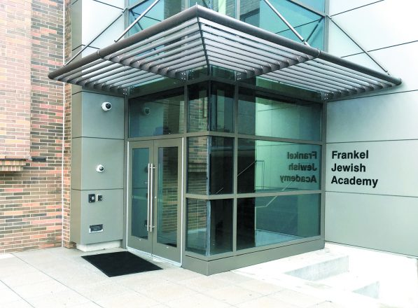Frankel Jewish Academy, housed inside the JCC in West Bloomfield, has state-of-the-art security. FJA's Federation allocation was covered by an anonymous donor for a third year, so the money it would have received has gone to improve security at other Federation organizations.