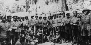 "47,000 Palestinian Jews were enlisted in an all-Jewish ""Buffs"" Regiment"