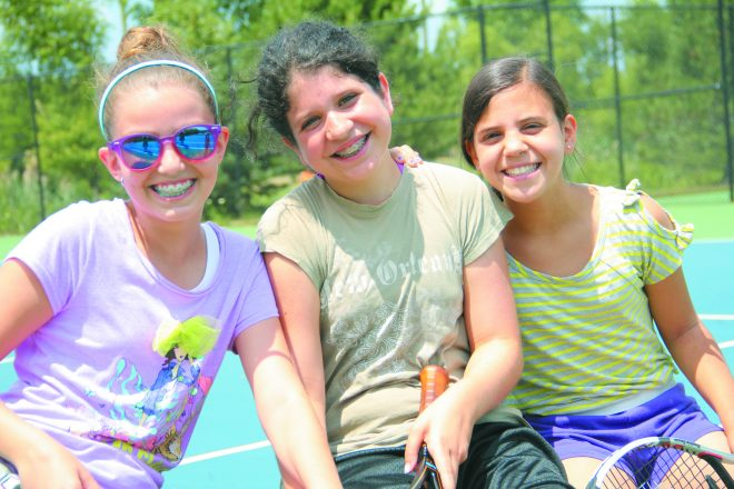Good friendships often begin at the JCC Day Camps.