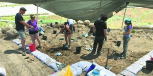 OU Students Probe Mysteries at Israeli Archaeological Dig