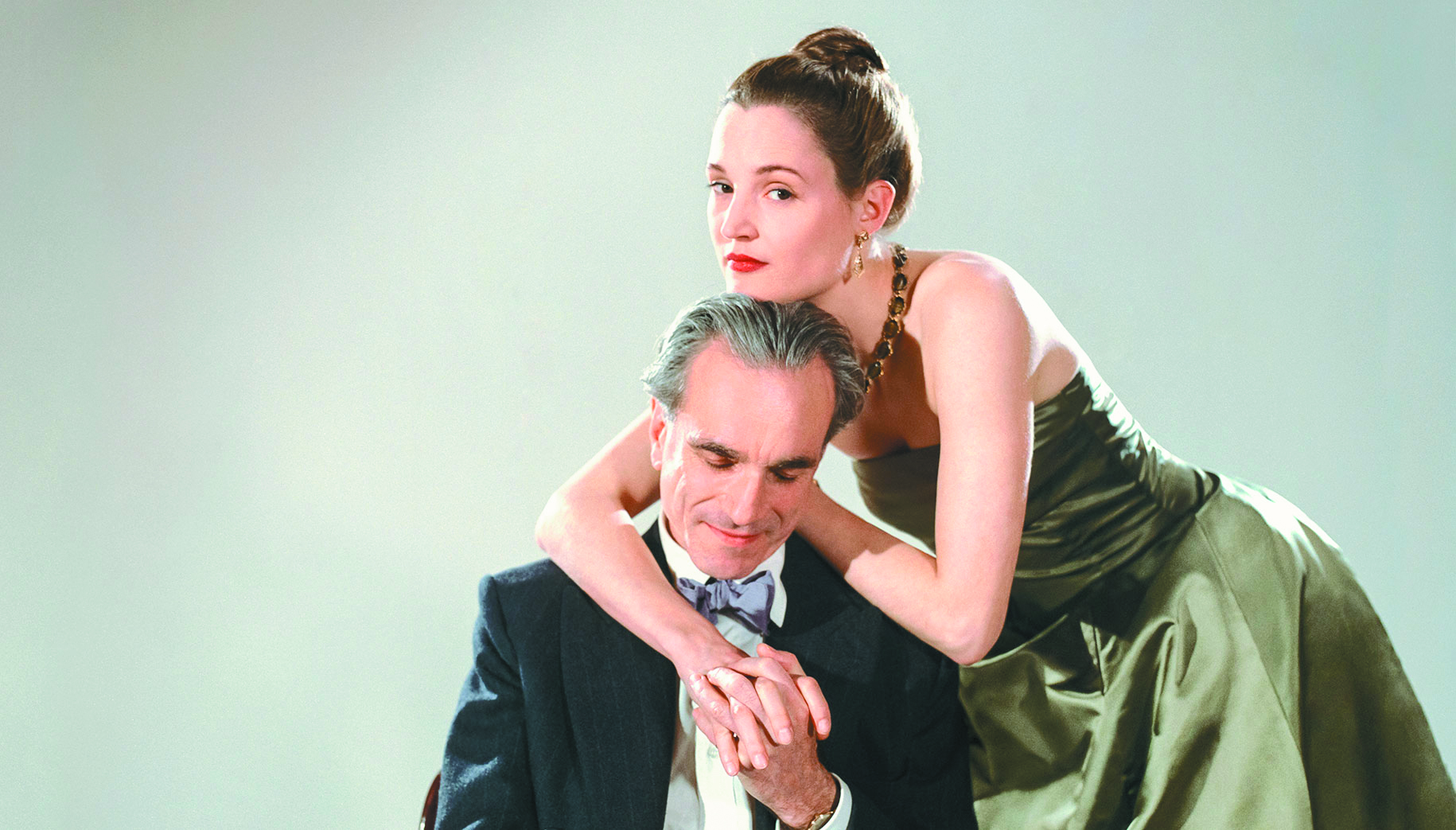 Daniel Day-Lewis and Vicky Krieps in Phantom Thread.