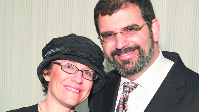 Rachel and Rabbi Asher Lopatin