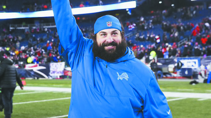 Matt Patricia, Detroit Lions' new head football coach.
