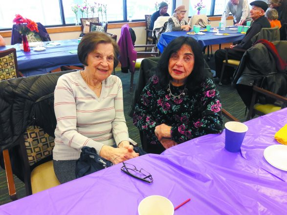 Local survivors Rae Nachbar and Sabina Heller.