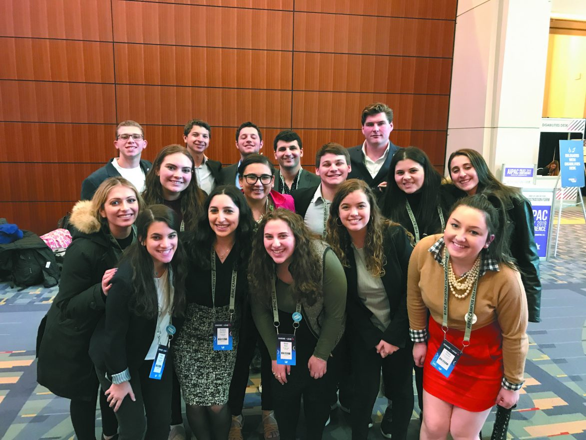 MSU Hillel's delegation to the AIPAC Policy Conference