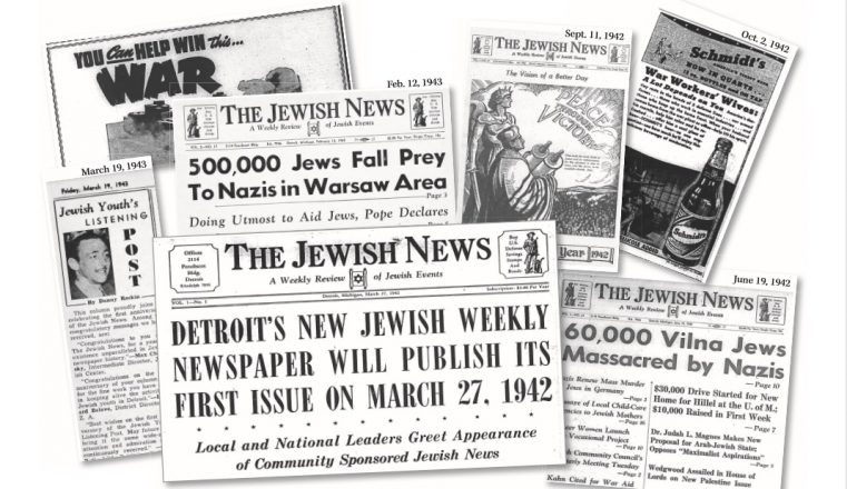 A collection of the Jewish News from papers from its first year March 1942 to March 1943.