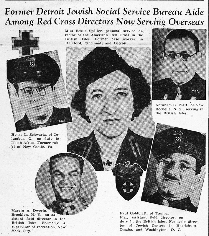 The Detroit Jewish News March 19, 1943 issue.