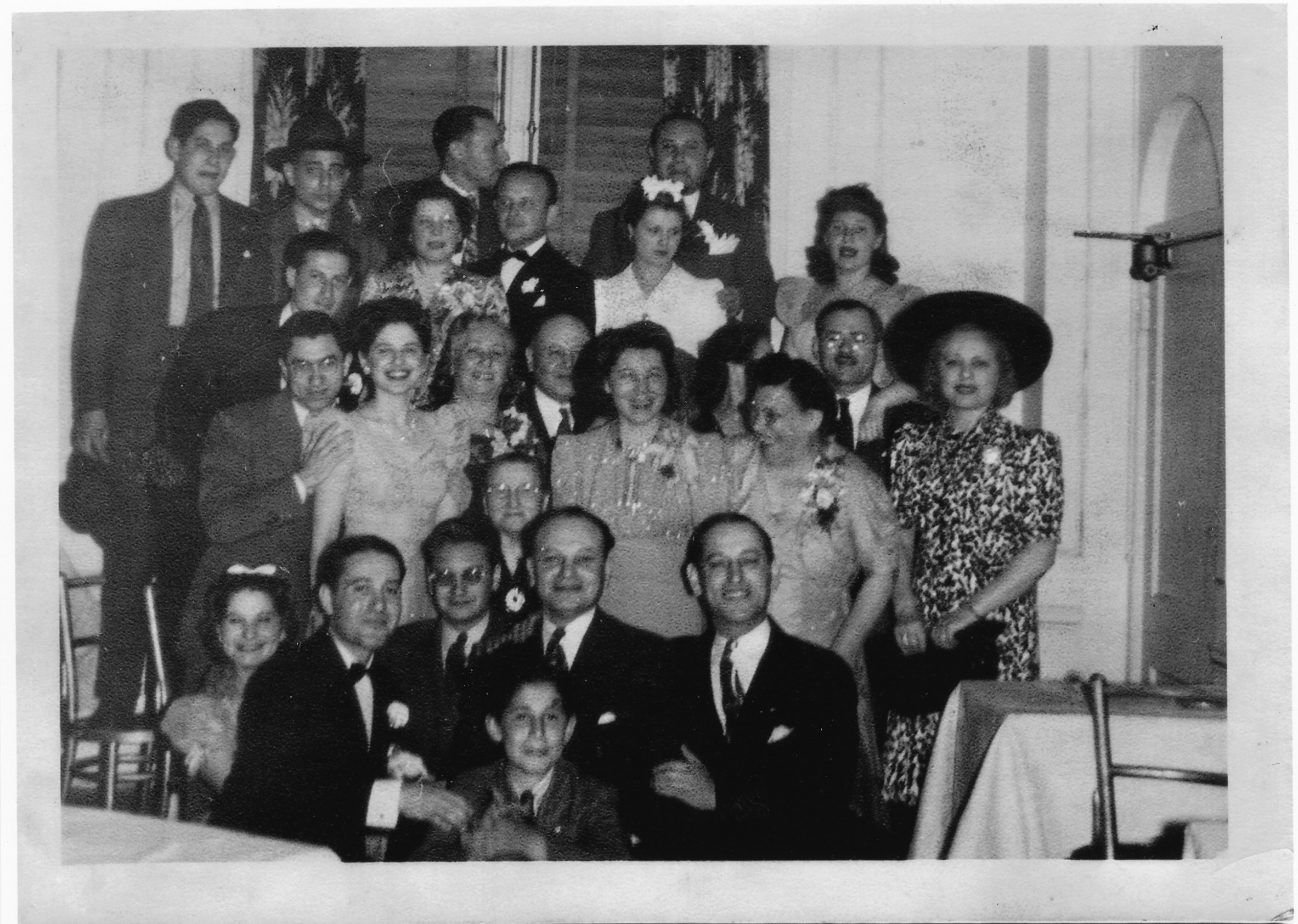 Music runs in the Woolf family's genes. This photo is from 1935.