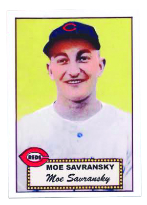 Moe Savransky, now 88, is the oldest living Jewish former Major Leaguer — he played for the Cincinnati Redlegs in 1954.