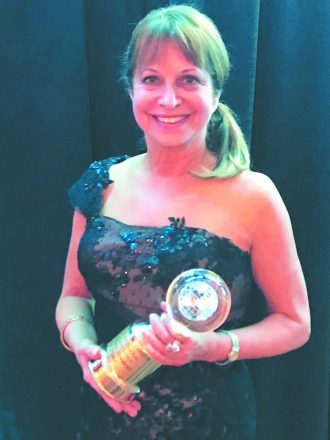 Elaine Fieldman of Birmingham won top honors in competitive ballroom dancing at the Ohio Star Ball in Columbus, Ohio. She received awards in the World Dancesport Series for Top Female Student, Top Bronze Student and Top Multi-Dance Smooth Competitor. The World Dancesport Series consists of more than 90 ballroom dance competitions throughout the season and more than 4,000 female student competitors. Elaine dances with professional Blake Kish from the Birmingham Ballroom Company studio in Auburn Hills, which won top studio.