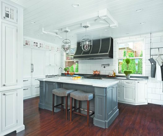 Art | Harrison Design Studio teamed with EW Kitchens to create this renovation.