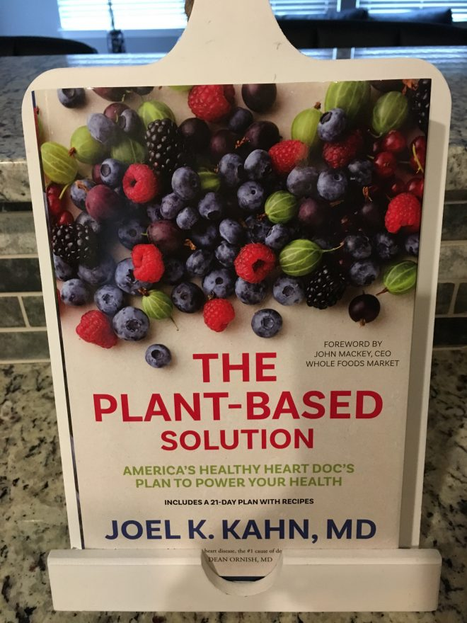 "Leslie Rott. ""The Plant-Based Solution"" Joel Kahn vegetarian life. vegetarian food. cooking."