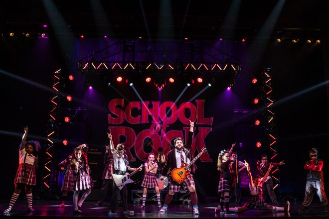 The cast of School of Rock
