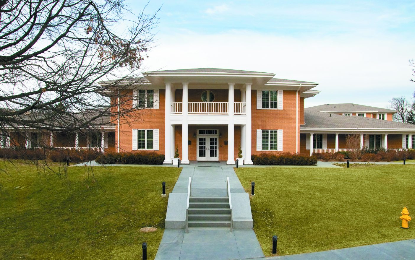 The Walter Reed Fisher House — one of the beautiful designs typical of Fisher Houses throughout the country.