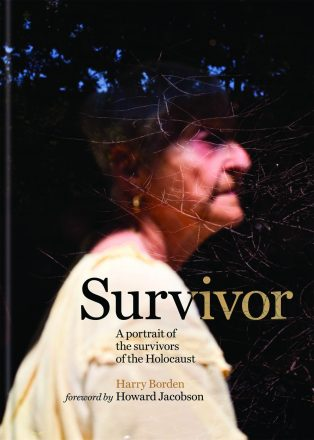 "Cover from the book ""Survivor"" in honor of Yom HaShoah."