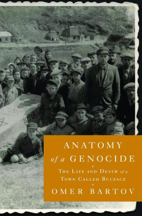 "Cover from the book ""Anatomy of Genocide"" in honor of Yom HaShoah."
