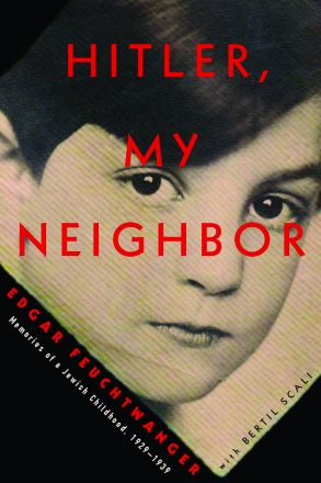 "Cover from the book ""Hitler My Neighbor"" in honor of Yom HaShoah."