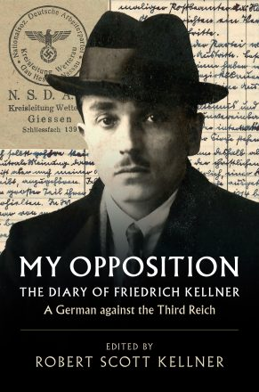 "Cover from the book ""My Opposition"" in honor of Yom HaShoah."
