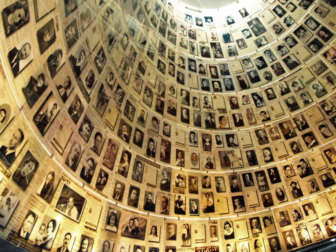 Yad Vashem Holocaust memorial in Israel