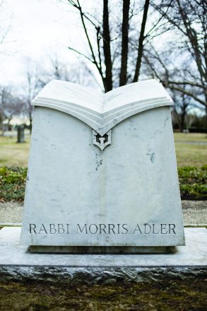 Rabbi Morris Adler's headstone