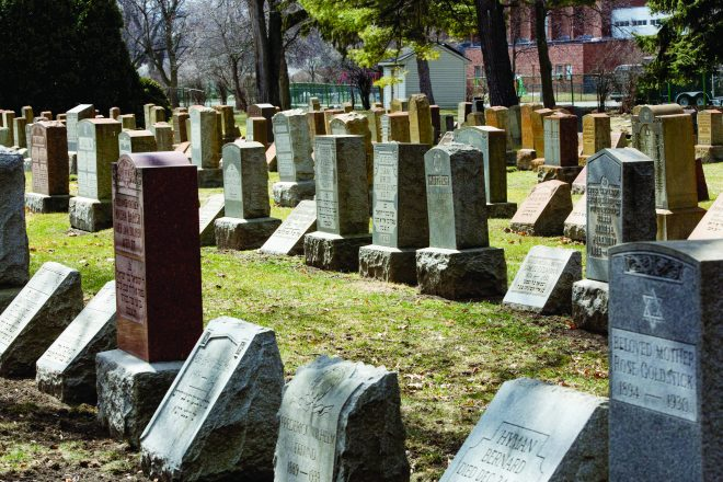 Some of these gravestones have birthdates that date from the mid- to late-1800s.