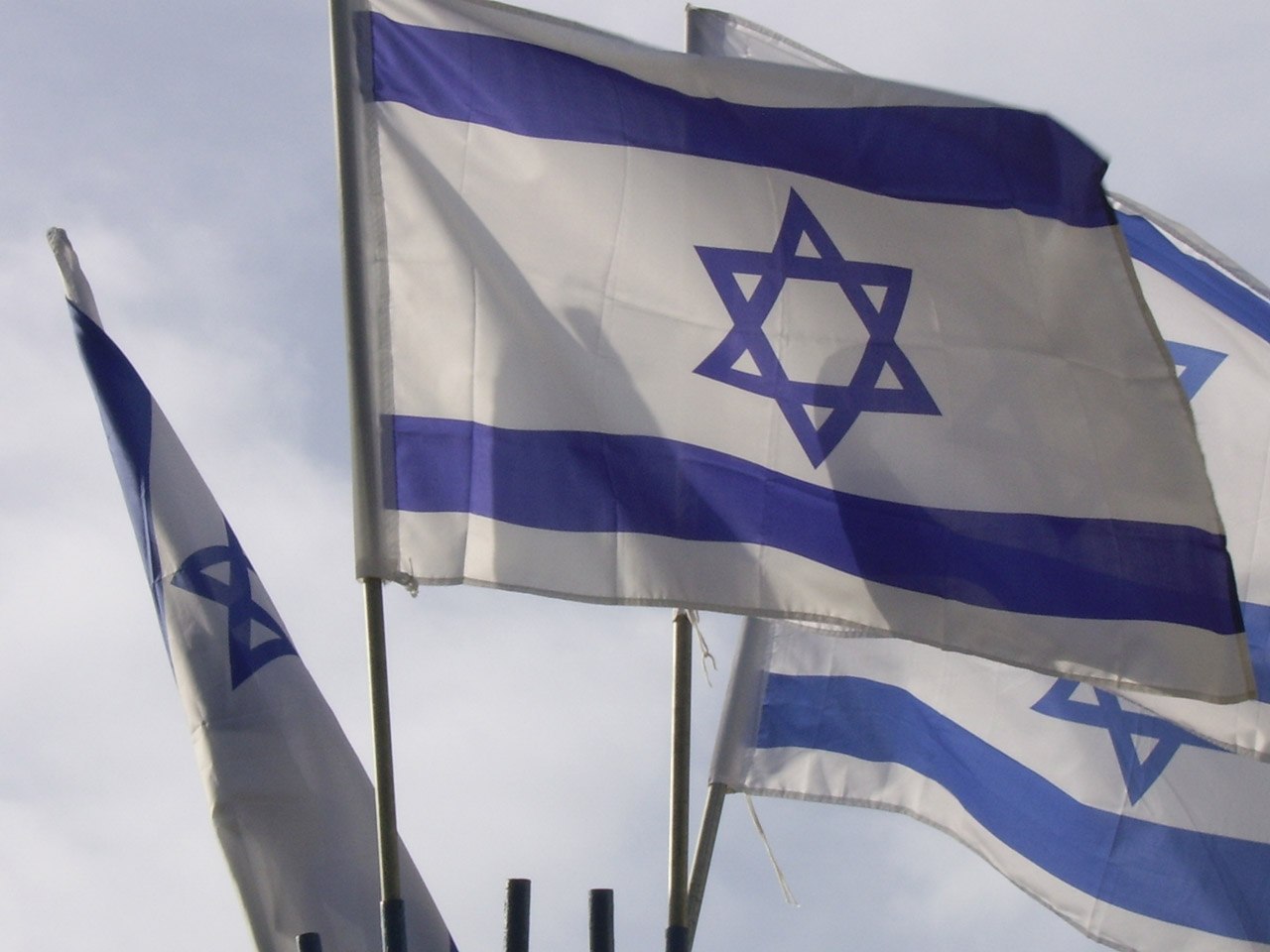Israeli flag, Israel, star of David