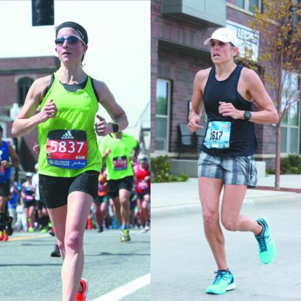 Run Strong Project founders Sara Plumstead and Amy Haenick.
