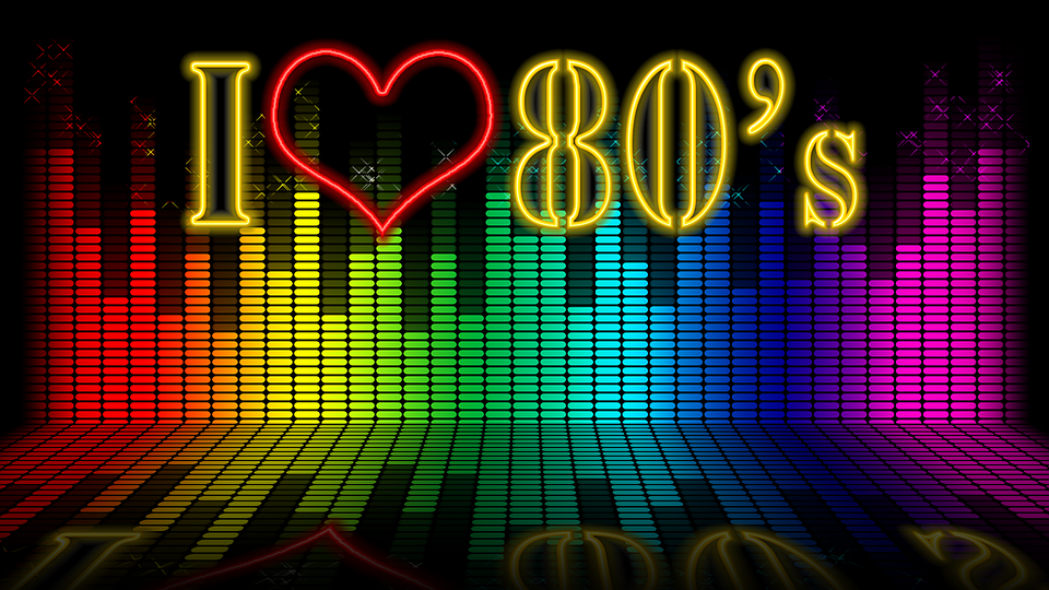 elite 80's I heart the 80's