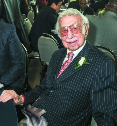 Danny Raskin celebrated his 75th work anniversary with the JN.