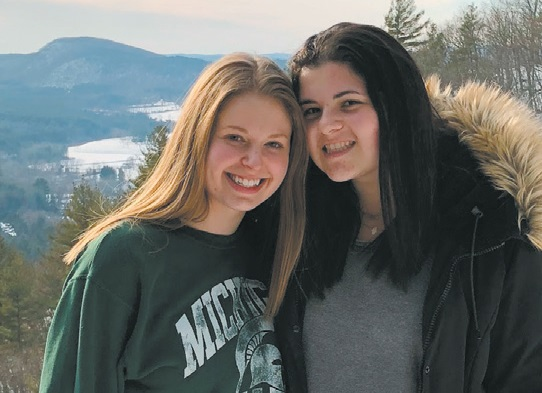 Eden Sittsamer and Lexie Kay at the JLF retreat