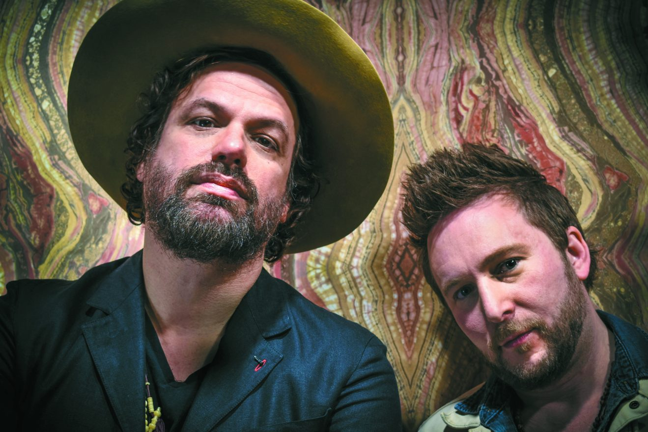 Michael Glabicki and Dirk Miller of Uprooted. PHOTO BY CARA FREIDHAM