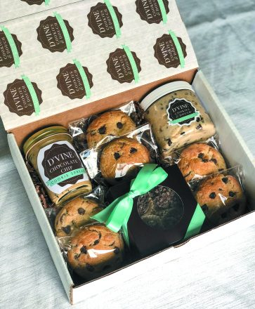 A gift package includes Cookie Spread and Cookie Dough