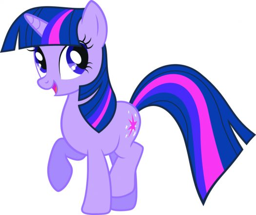 Twilight from My Pretty Pony.