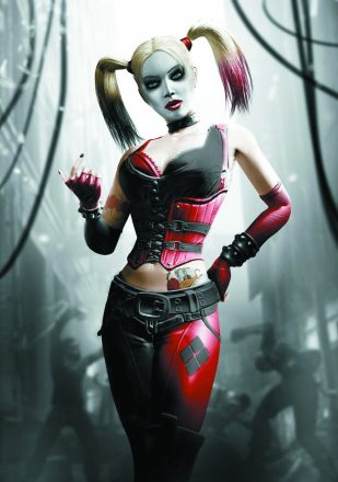 Harley Quinn from Batman: Arkham City.