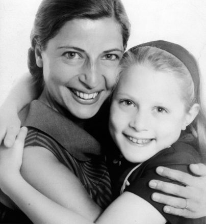Ruth Bader Ginsburg with her daughter Jane in the 1960s